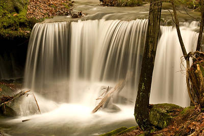 Photograph - Silken Waterfall by Douglas Barnett