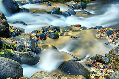 Photograph - Silky Water by Maria Coulson