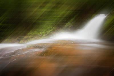 Photograph - Silky Magic Dreamscape  by Debra and Dave Vanderlaan