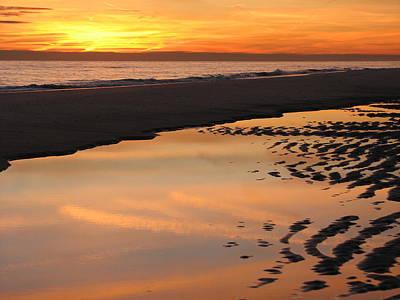 Photograph - Silky Sand by SJ Lindahl