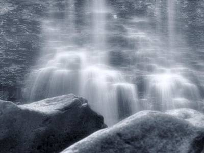 Photograph - Silky Waterfall by Dan Sproul