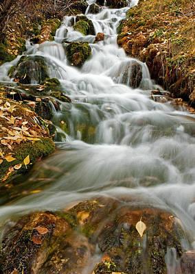 Photograph - Silky Waterfall by Scott Read