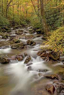 Photograph - Silky Waters At Jones Gap Creek by Willie Harper