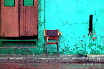 Photograph - Silla Roja by John Rizzuto