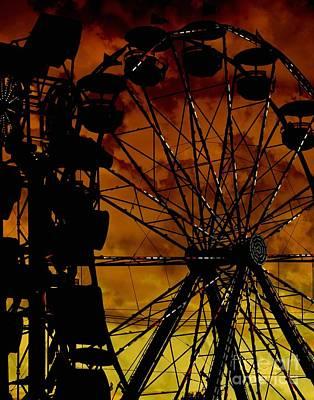 Keith Richards - Sillhouette by Amanda Kessel