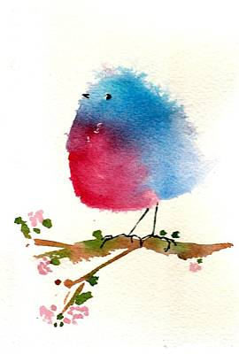 Painting - Silly Bird #1 by Anne Duke