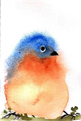 Painting - Silly Bird #2 by Anne Duke