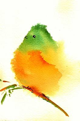 Painting - Silly Bird  #3 by Anne Duke