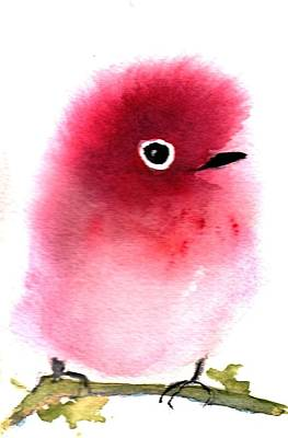 Painting - Silly Bird #4 by Anne Duke