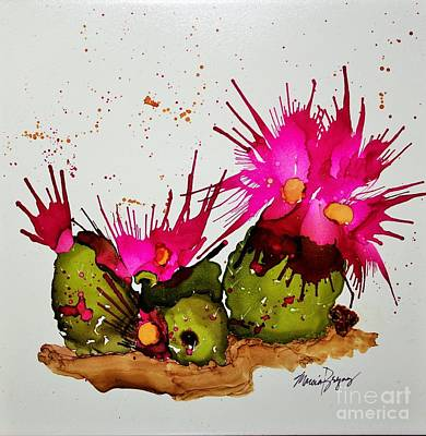 Painting - Silly Cactus by Marcia Breznay