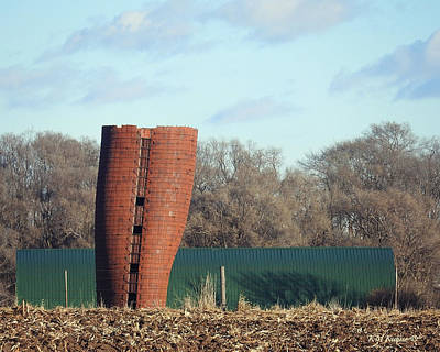 Photograph - Silly Silo by Kathy M Krause