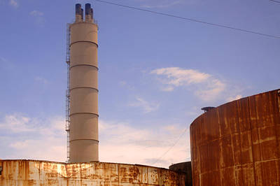 Photograph - Silo Stack by Jill Reger