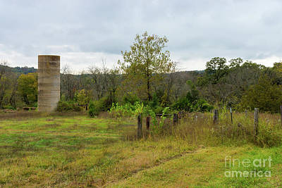 Photograph - Silo Still Stands by Jennifer White