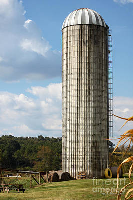 Photograph - Silo by Todd Blanchard