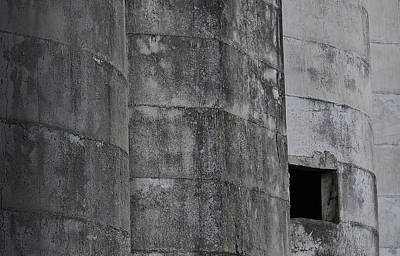 Photograph - Silo With Window by Nadalyn Larsen