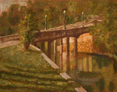 Arkansas Painting - Siloam Springs by Becky Christenson