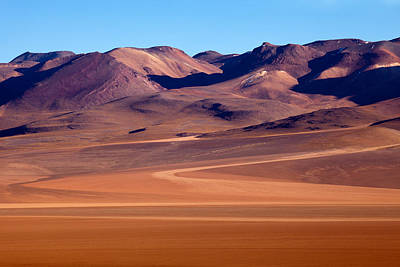 Siloli Desert Art Print