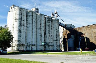 Photograph - Silos by Alys Caviness-Gober