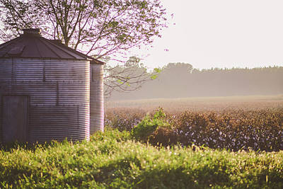 Photograph - Silos In South Georgia by Tracie Moore