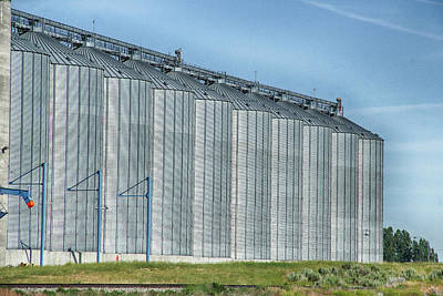 Photograph - Silos In Summer by Marie Leslie