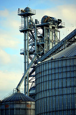 Photograph - Silos On The Tennessee River II by Lesa Fine