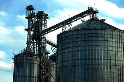 Photograph - Silos On The Tennessee River IIi by Lesa Fine