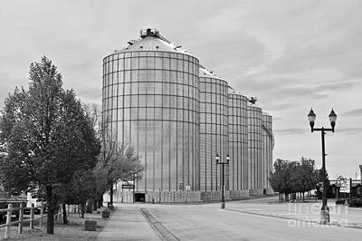 Photograph - Silos by Sean Griffin