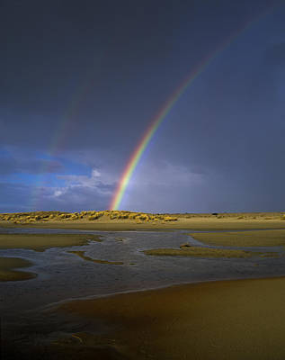 Photograph - Siltcoos Rainbow by Robert Potts