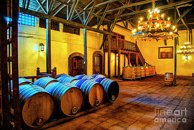 Photograph - Silva Celler Barrels by Rick Bragan