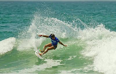 Photograph - Silvana Lima Surfer Girl by Waterdancer