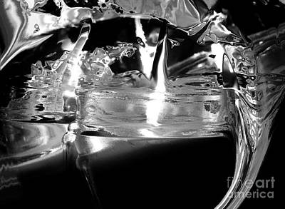Dream Photograph - Silver And Black Alchemy by Abstract Angel Artist Stephen K