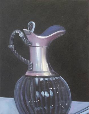 Painting - Silver And Glass by Joni McPherson