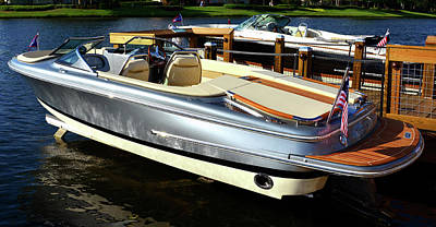 Photograph - Silver Boat by David Lee Thompson