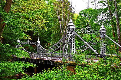 Photograph - Silver Bridge 004 by George Bostian