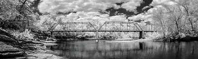 Photograph - Silver Bridge Pano by James Barber