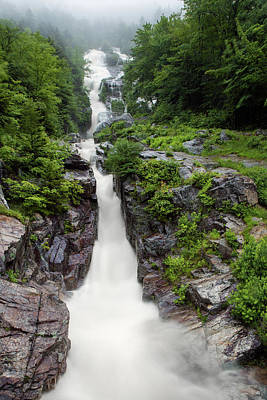 Photograph - Silver Cascade Flood by Chris Whiton