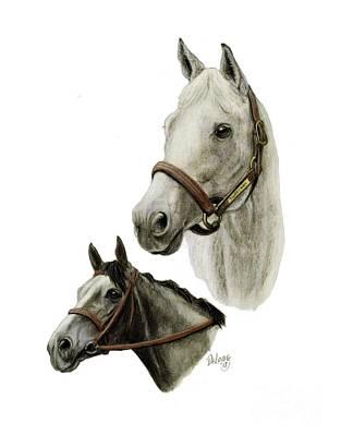 Silver Charm Art Print by Pat DeLong