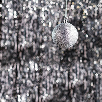 Photograph - Silver Christmas by U Schade