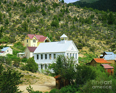 Photograph - Silver City Center by Roxie Crouch