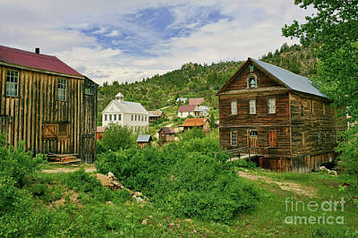 Photograph - Silver City Idaho by Roxie Crouch