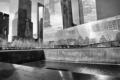 Ground Zero Photograph - Reflections Of Absence by Jessica Jenney