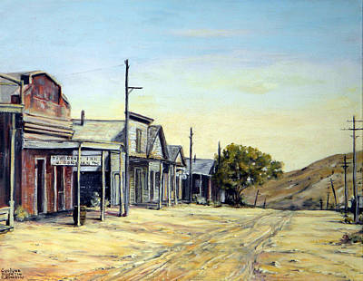 Painting - Silver City Nevada by Evelyne Boynton Grierson