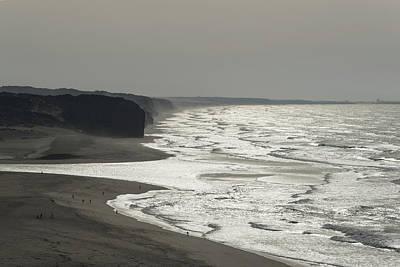 Photograph - Silver Coast - by Georgia Mizuleva