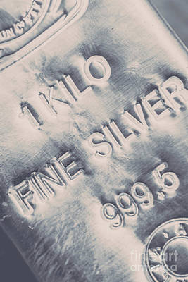 Silver Commodities Art Print
