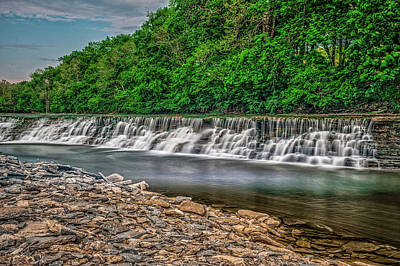 Photograph - Silver Creek by Barry Fowler