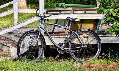 Photograph - Silver Cycle by Linda Brown