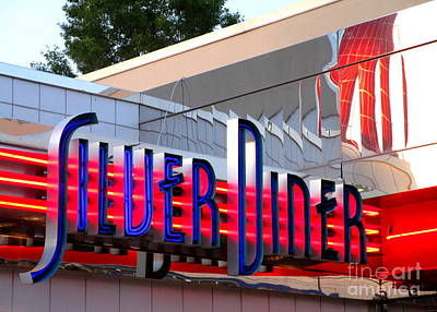 Photograph - Silver Diner 4 by Randall Weidner