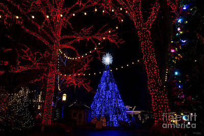 Photograph - Silver Dollar City Christmas by Jennifer White