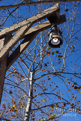 Photograph - Silver Dollar City Street Light by Jennifer White
