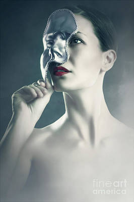 Art Print featuring the photograph Silver Face by Dimitar Hristov